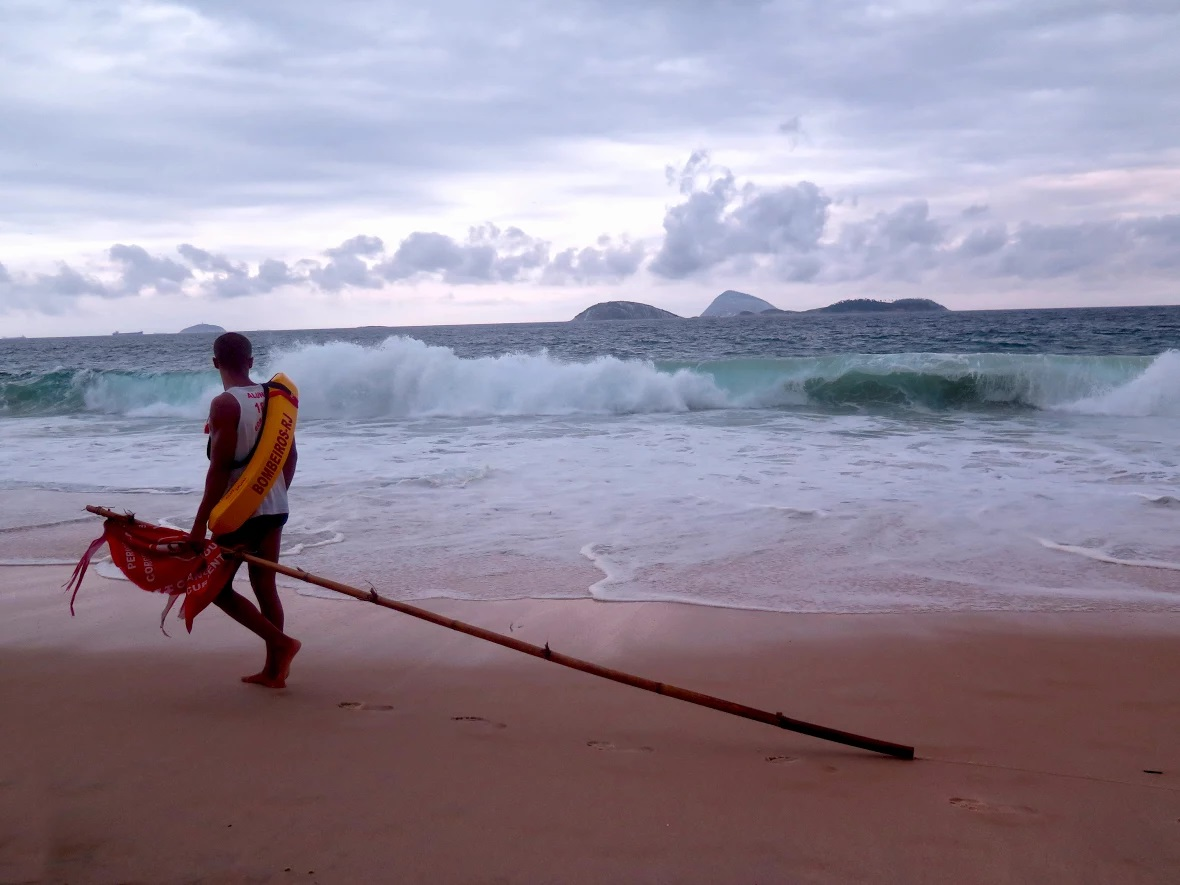 Brazilië Ipanema strandwacht