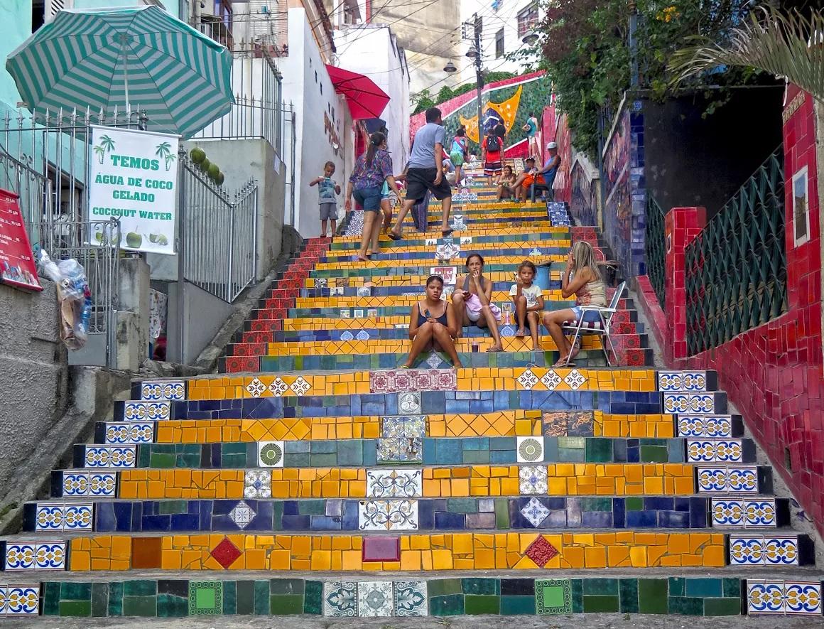 Brazilië Lapa Steps
